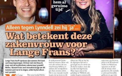 """""""Lange frans zei alleen tegen Lynndell 'Ja'…"""""""