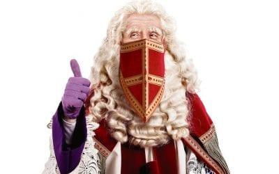Sinterklaas is (stiekem) in het land.
