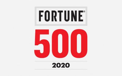 Uitkomst Fortune 500 enquete 2020