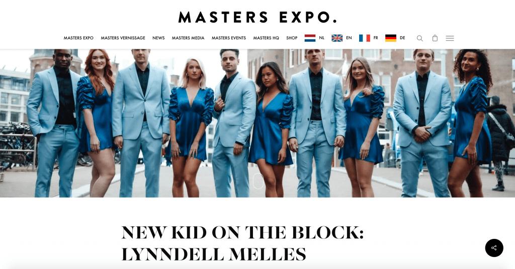 MASTERS EXPO, New kid, interview, MELLES PEOPLE, host en hostesses