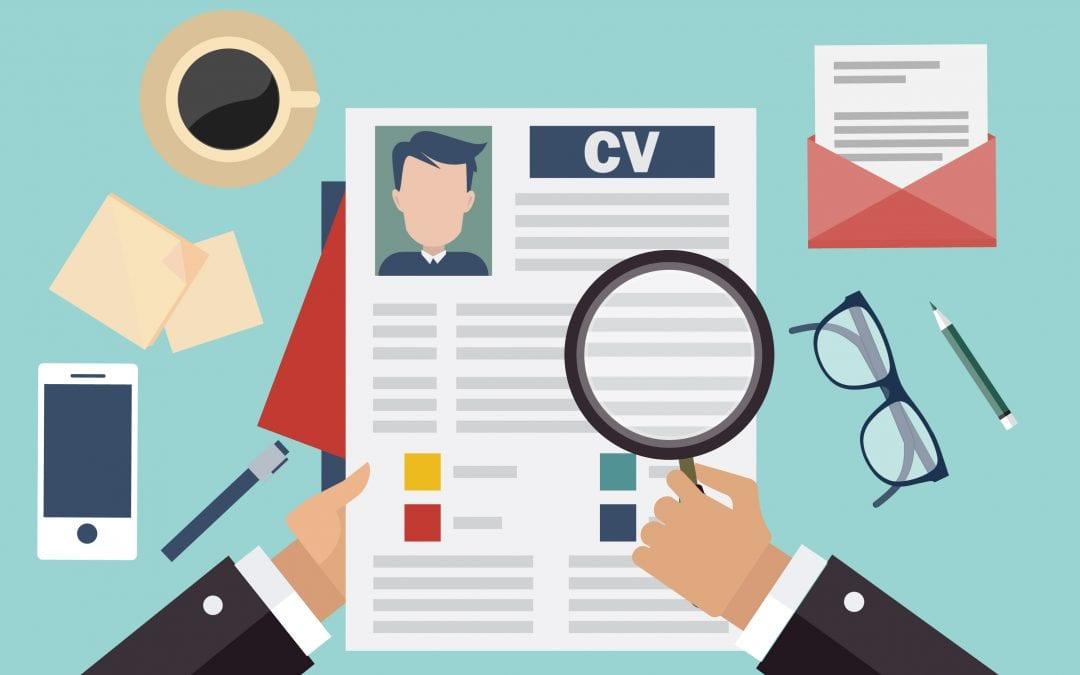 CV, tips, eruit laten springen, template